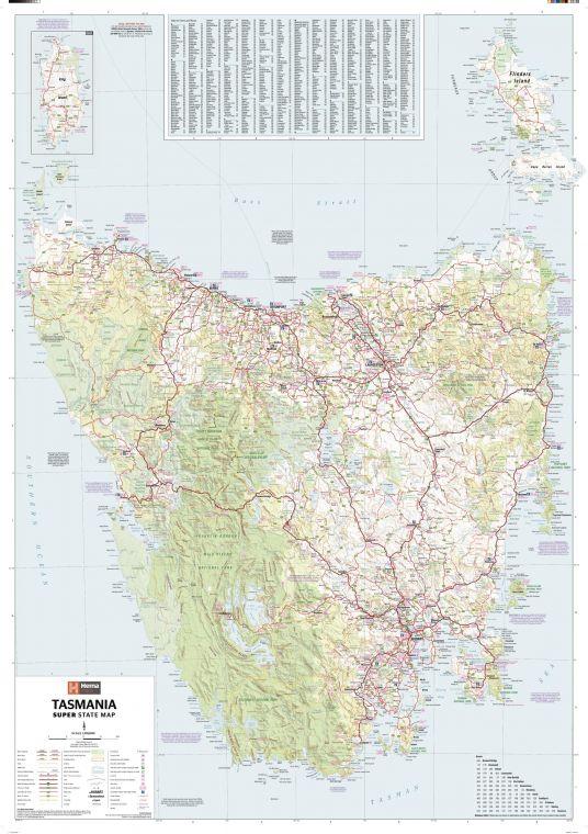 Tasmania Supermap