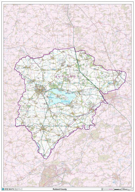 Rutland County Map