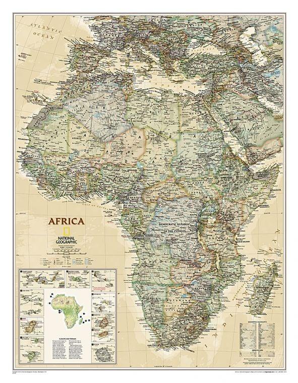 Africa Executive Map