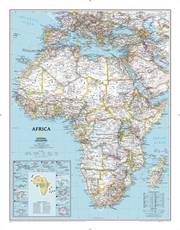 Africa Classic Map