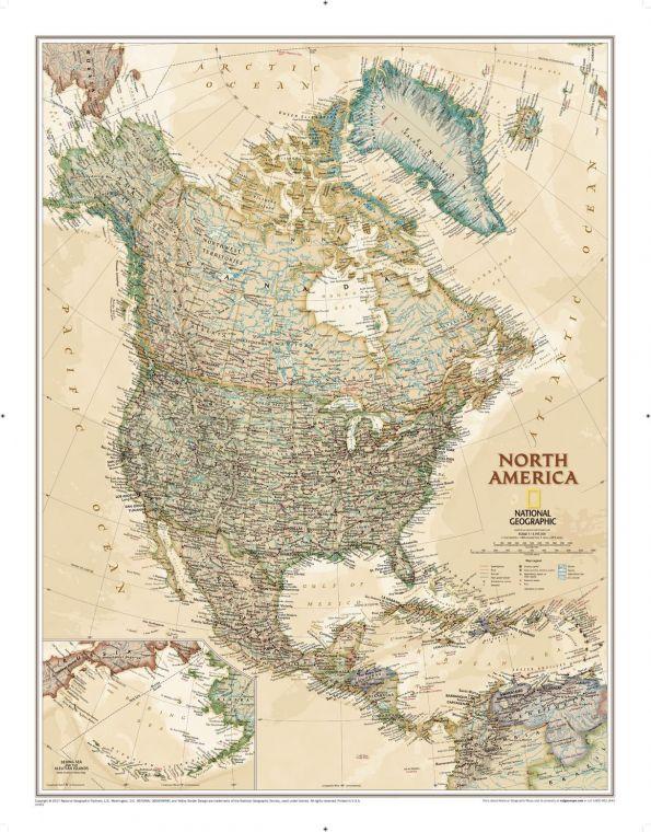 North America Executive Map