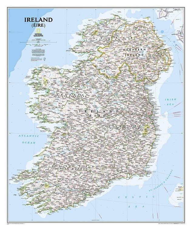 Ireland Classic Map