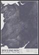 Offa S Dyke Path National Trail Map Print