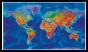 Artistic World Wall Map Large