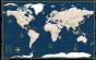 World Nautical Style Map