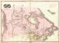 Pinkerton Map Of British North America Or Canada 1818