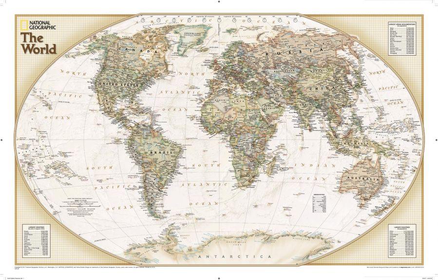 World Explorer Executive Map