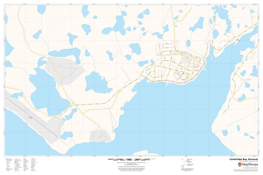 Cambridge Bay Nunavut Map