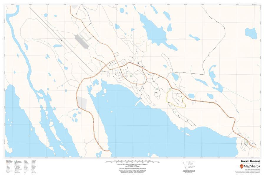 Iqaluit Nunavut Map