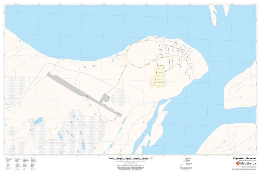 Kugluktuk Nunavut Map