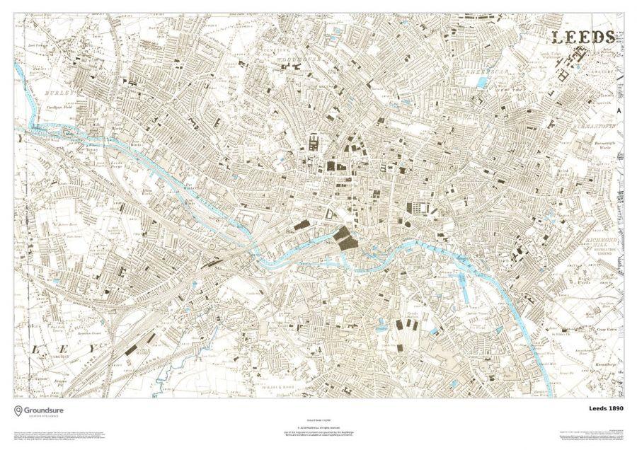 Leeds Map 1890