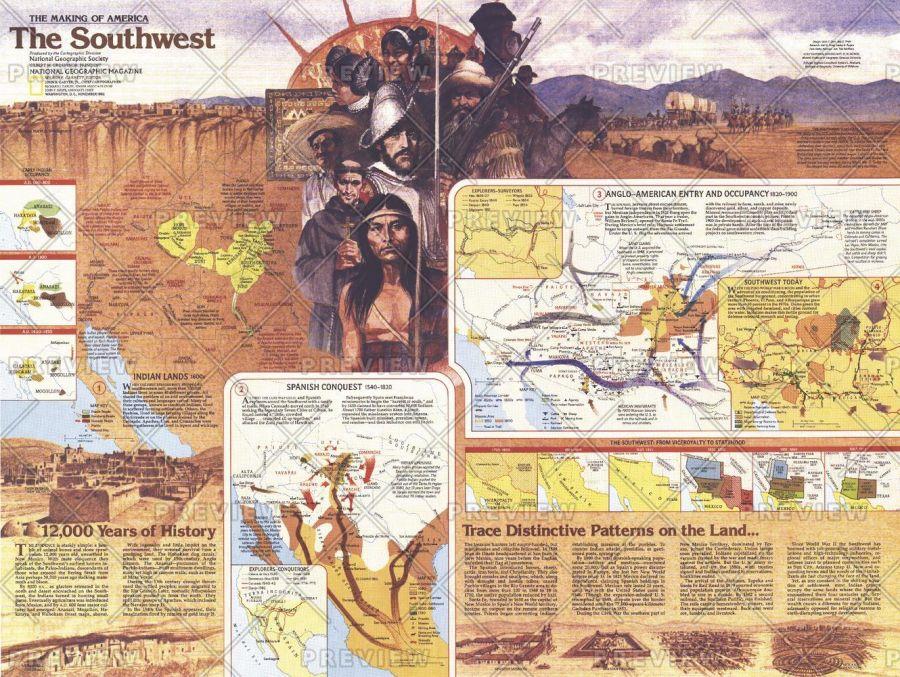 Southwest Side 2 Published 1982 Map