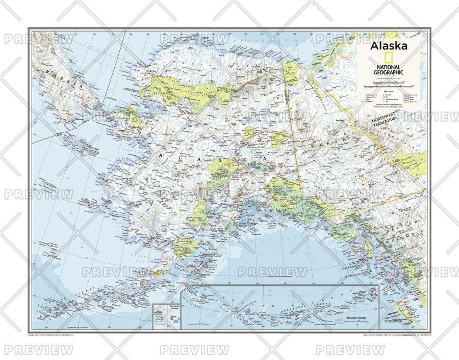 Alaska Atlas Of The World 10Th Edition Map