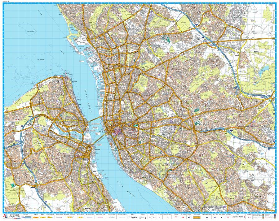 A Z Liverpool Street Map