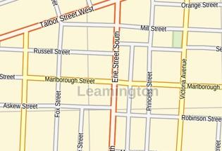 Map Of Leamington Ontario Canada Where is Leamington Ontario?   MapTrove