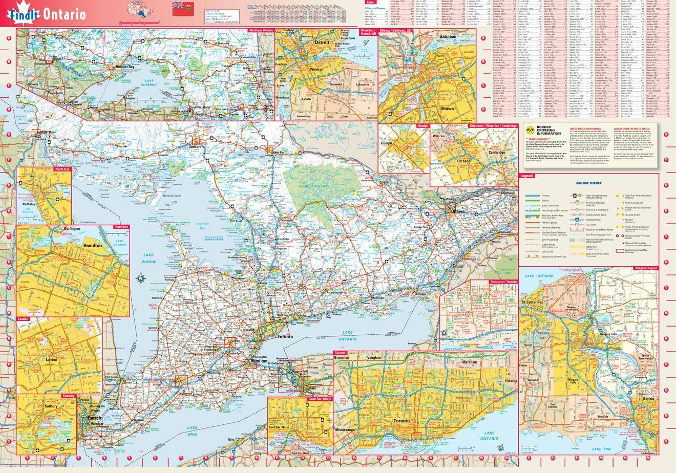 Ontario Maps - MapTrove