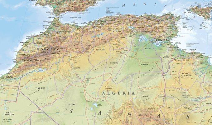 algeria-map