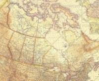Canada Map - 1936