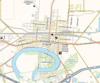 Portage la Prairie Map